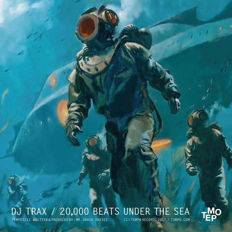 DJ Trax_20000 Beats Under The Sea_Tempo1211_Poster_3000px