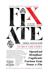 Fixate poster